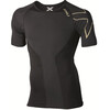 2XU M's Elite Compression S/S Top Black/Gold